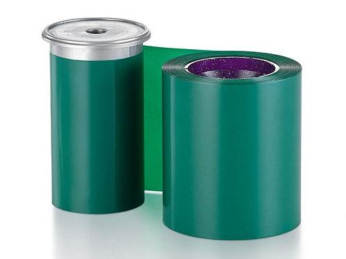 Entrust Monochrome Green Ribbon - Prints 1500 Cards (525900-008)