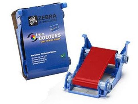 Zebra Red Monochrome 800017-202 True Colours® i Series™ Print Ribbons
