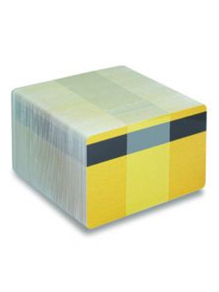 Blank Dark Gold Printable PVC Cards with Mag Stripe - Pack of 100 (DGOLDPVC760)