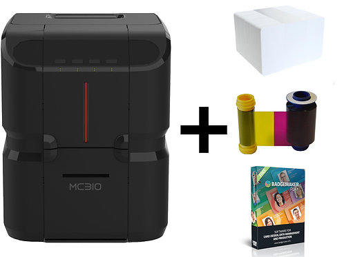 Matica MC310 ID Card Printer - Bundle Offer