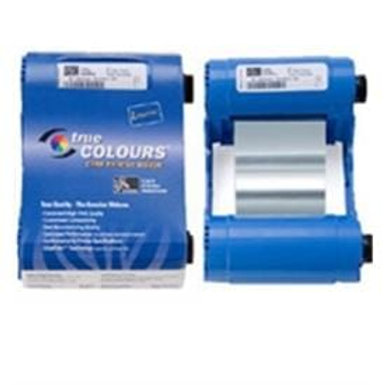 Zebra Metallic Silver Monochrome 800017-206 True Colours® i Series Ribbon
