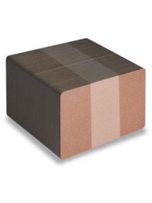 Blank Bronze Printable PVC Cards - Pack of 100 (BRONZEPVC760)