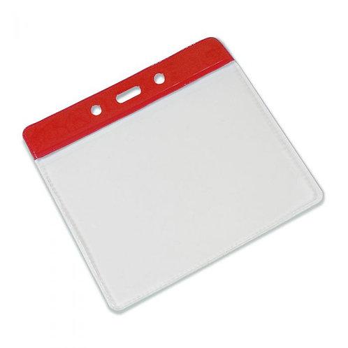 Clear Flexible 'Vision' Badge Holder - Landscape 100mm x 70mm (Pack of 100)