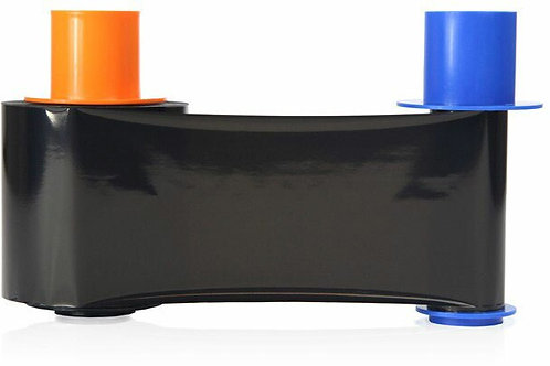 HID Fargo Black Monochrome Resin Ribbon (45616) - 3000 Prints