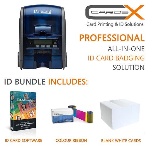 Professional ID Card Printing Bundle / Datacard SD160