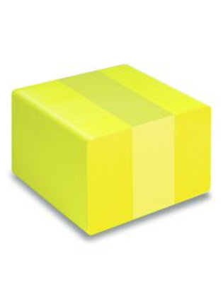 Blank Yellow Printable PVC Cards - Pack of 100 (YELLOWPVC760)