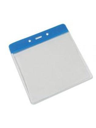 Clear Flexible 'Vision' Badge Holder - Landscape 100mm x 85mm (Pack of 100)