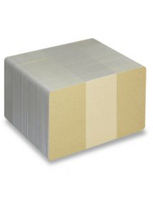 Blank Light Gold Metallic Printable PVC Cards - Pack of 100 (LGMETALLICPVC760)