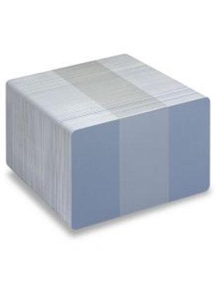 Blank Light Blue/White Printable PVC Cards - Pack of 100 (WLBLUEPVC760)