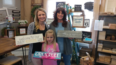 Mom, Grandma and Daughter - Projects for everyone!