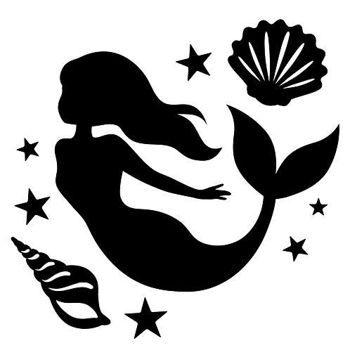 Mermaid & Seashells