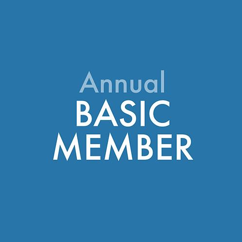 Early Bird Annual Basic Membership