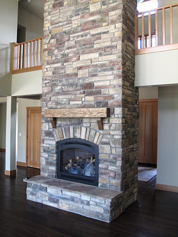 Fireplace 2-story