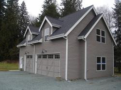 New garage with bonus