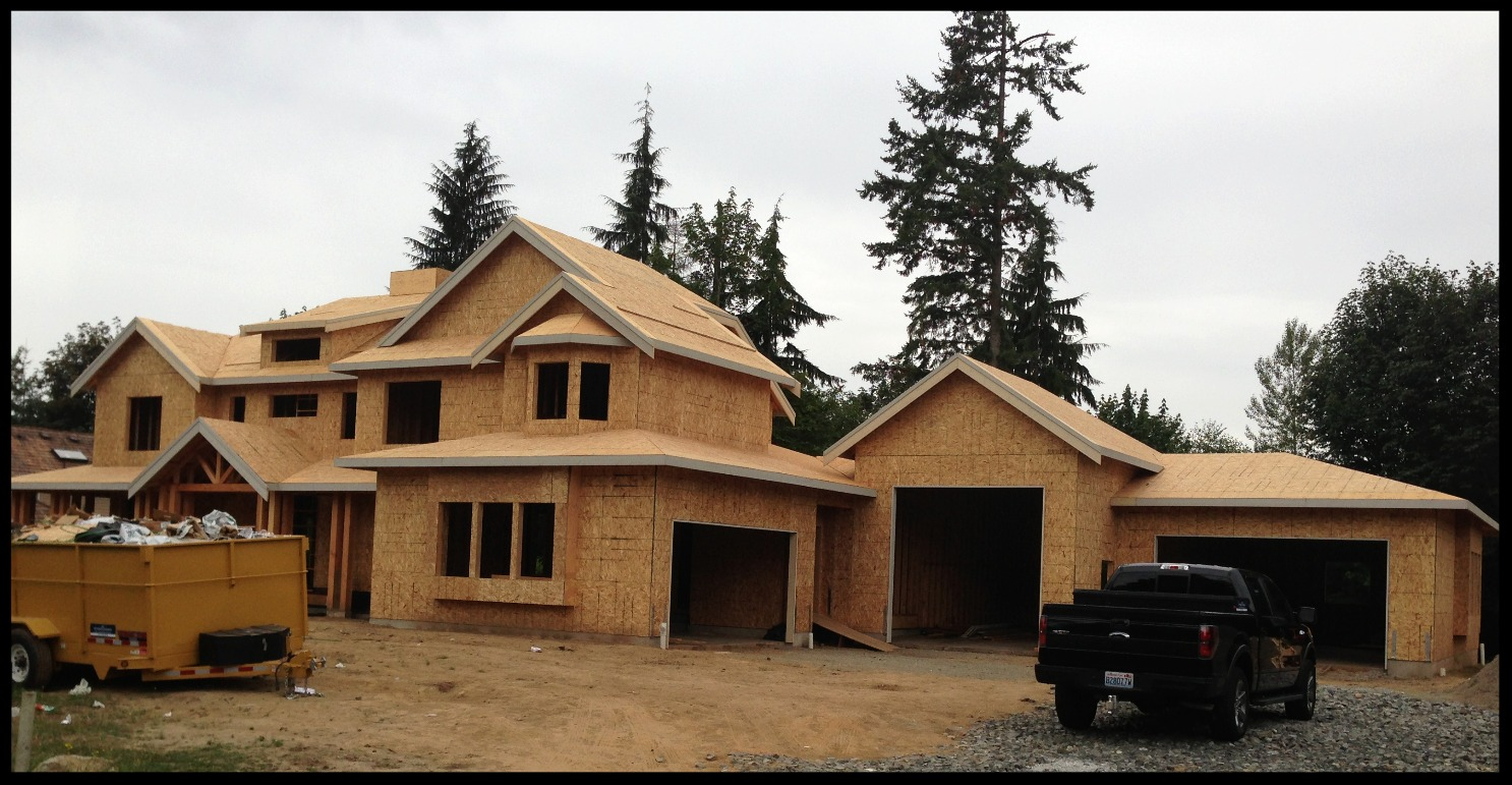New construction custom home