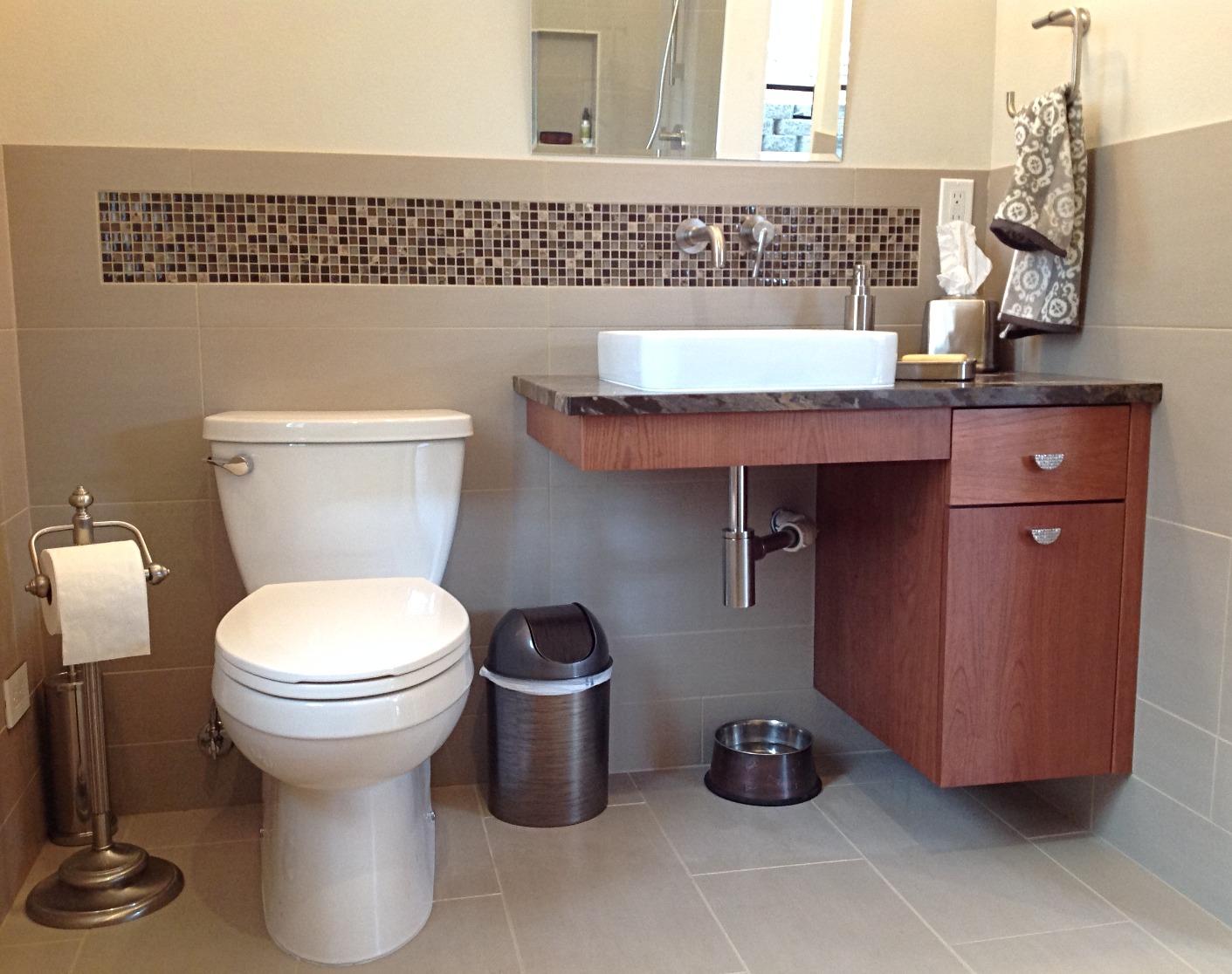 ADU bathroom remodel
