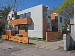 Modern exterior new construction