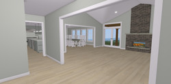 Living room concept drawing