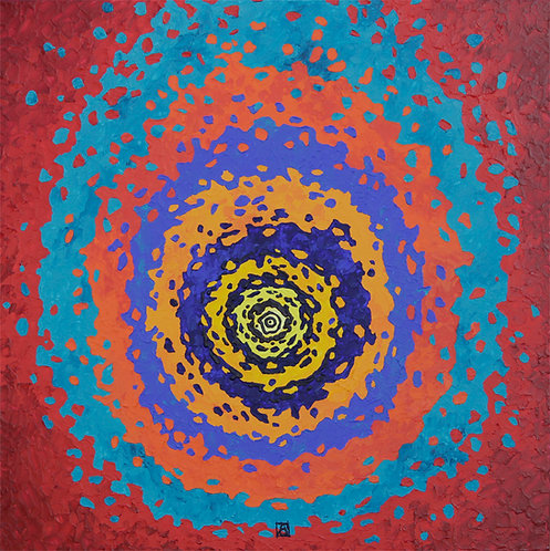 Comet of Life, 70x70, pigment print, LE 1/25