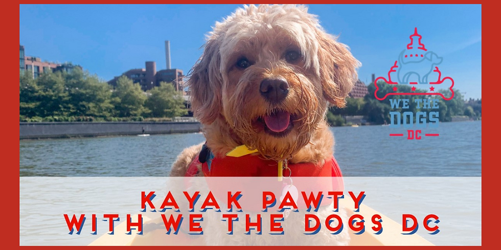 Kayak Pawty at Whoof on the Wharf