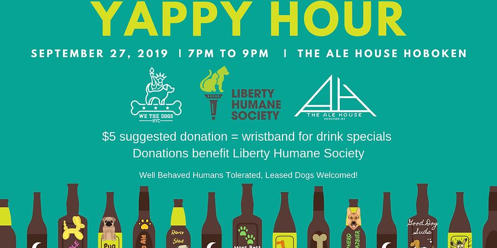 The Ale House Hoboken Yappy Hour