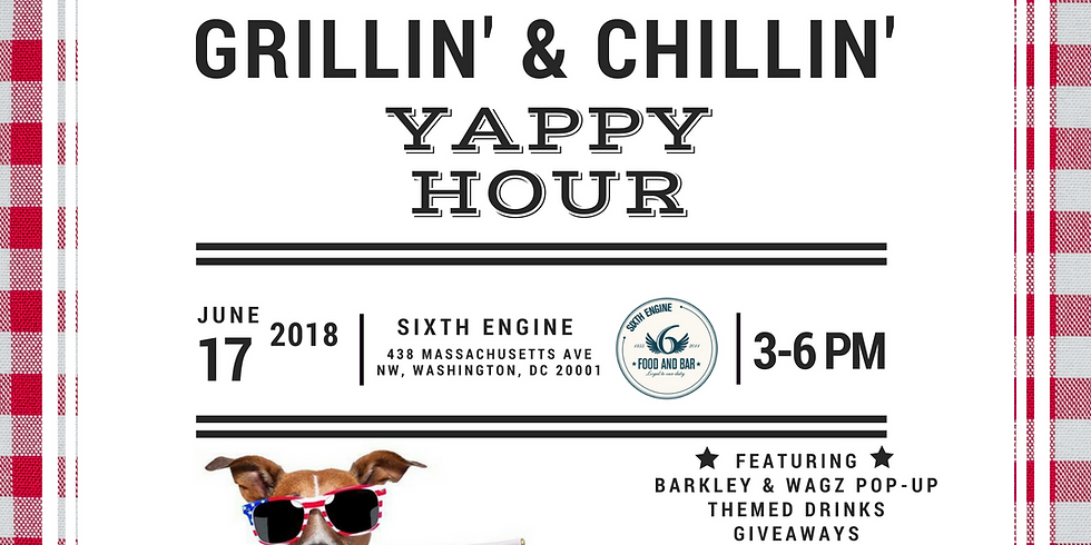 Grillin' & Chillin' Yappy Hour