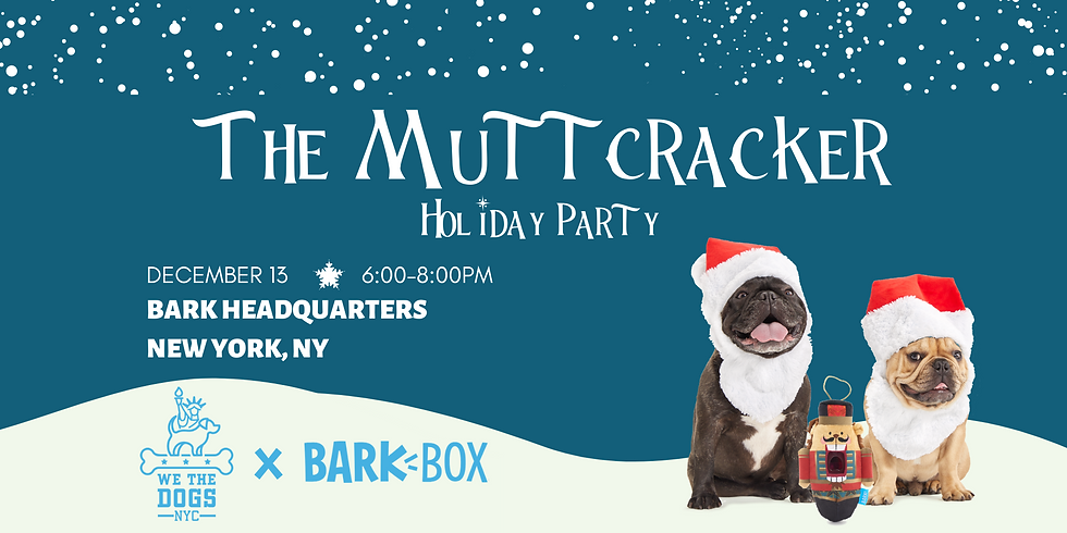 Muttcracker Holiday Party