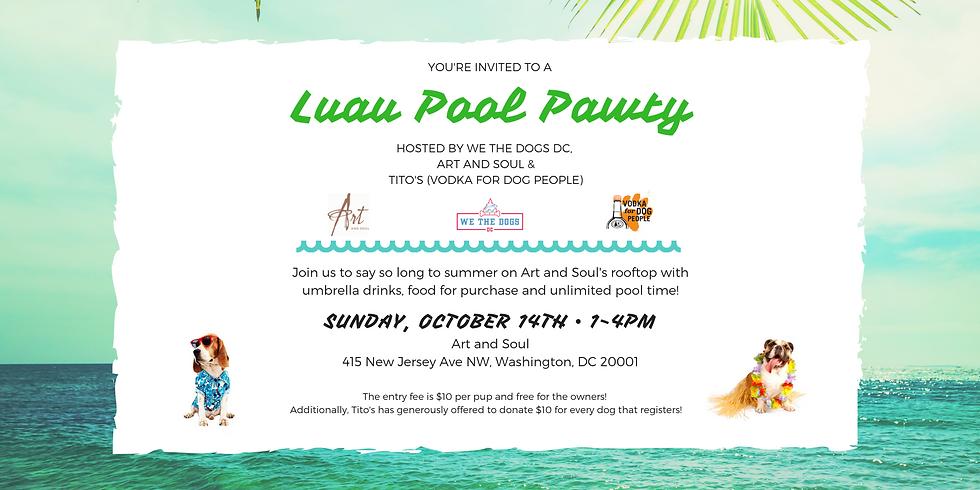 Luau Pool Pawty