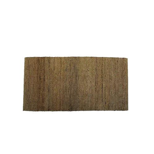 שטיח חבלים טבעי קנבס מאורך גדול