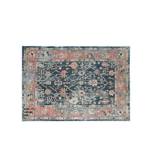 שטיח קלאסי לעיצוב הבית דוגמא אתנית ורוד