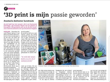 Interview met Anastasiia Thijssen door Amersfoort Nu