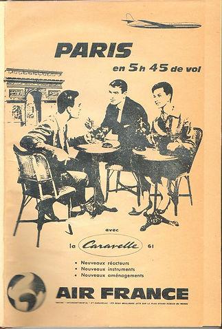 Pub Air France in Travaux et Jours num 1