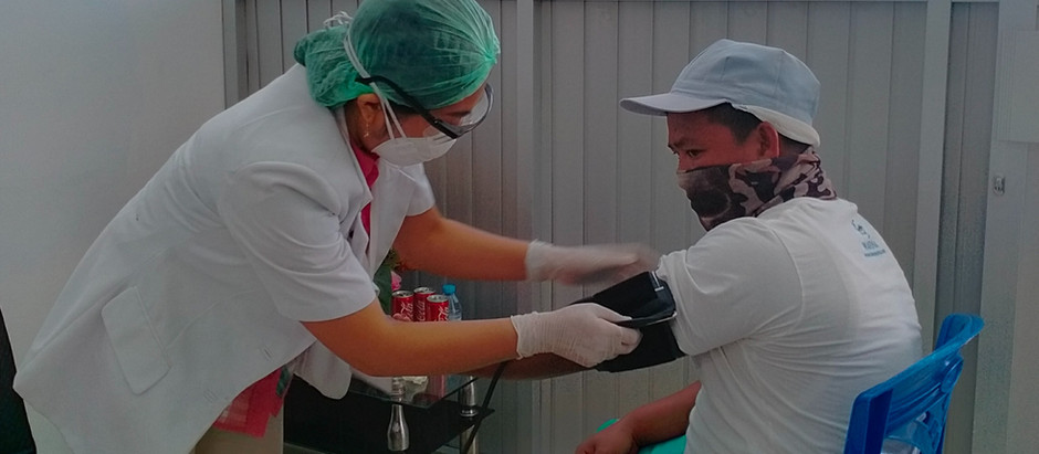 THE ANNUAL EMPLOYEE'S HEALTH CHECK of PT. MARINA NUSANTARA SELARAS