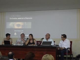 """Gran éxito de las II Jornadas """"La Carolina, modelo de la Ilustración"""" donde el Centro de Estudios Ne"""