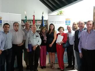 La Carlota acoge una reunión de la Comisión Nacional Organizadora del 250 Aniversario del Fuero de P