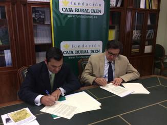 El CEN renueva su convenio con la Fundación Caja Rural de Jaén