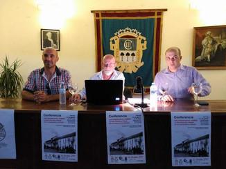 Conferencia de Joaquín Martínez sobre la Real Posada de La Carlota