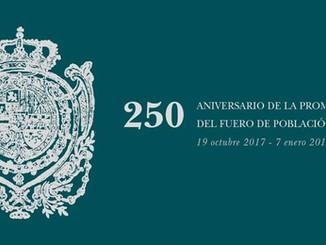 """Exposición """"250 Aniversario de la Promulgación del Fuero de Población""""  (La Carolina, Jaén)"""