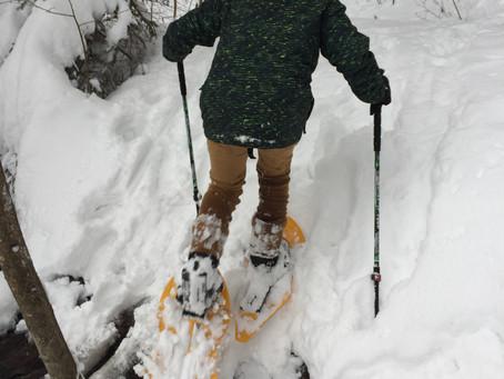 Eine Schneeschuhwanderung mach auch Kindern Spaß und ist eine gute Alternative um auch im Winter an