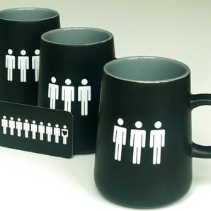 Standing Passengers Mug