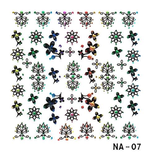 Calcomanía NA-07