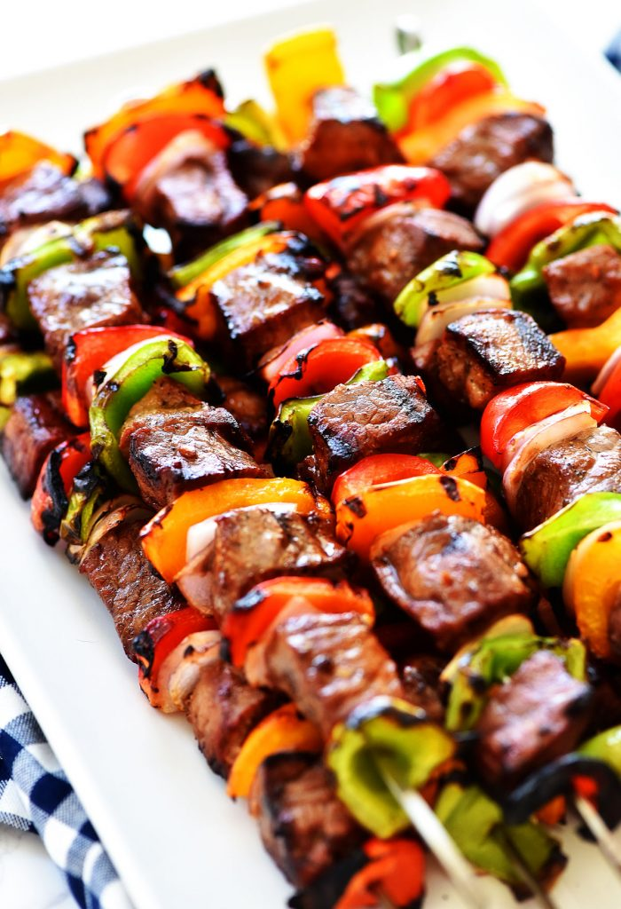 Hanger Steak Kabobs