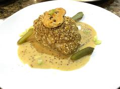Grouper Mustard Pretzel