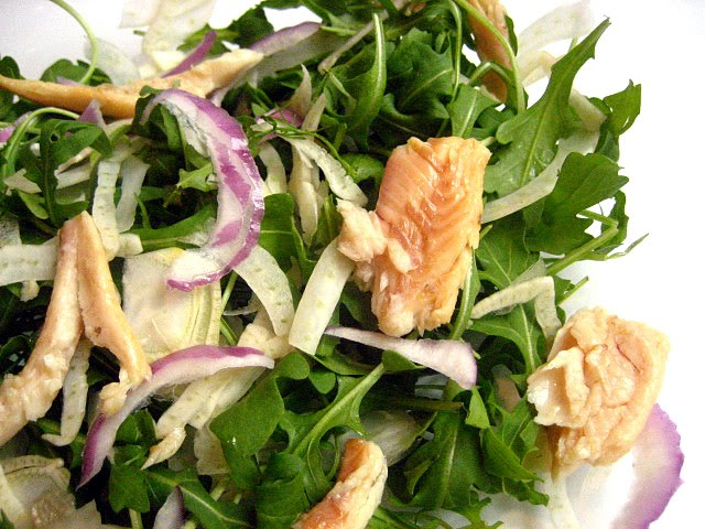 Smoke Trout Salad