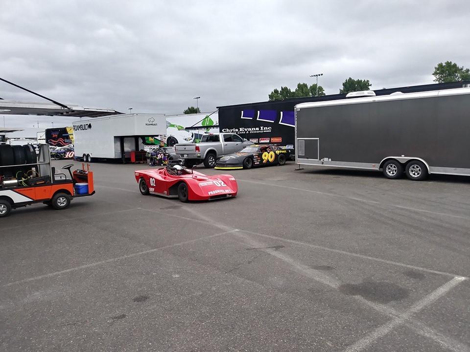 Portland Auo Racing Catering Race Car