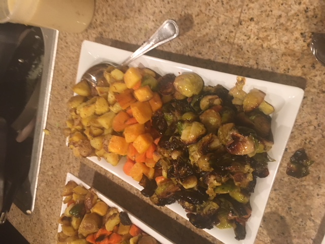 Squash Brussels Sprouts