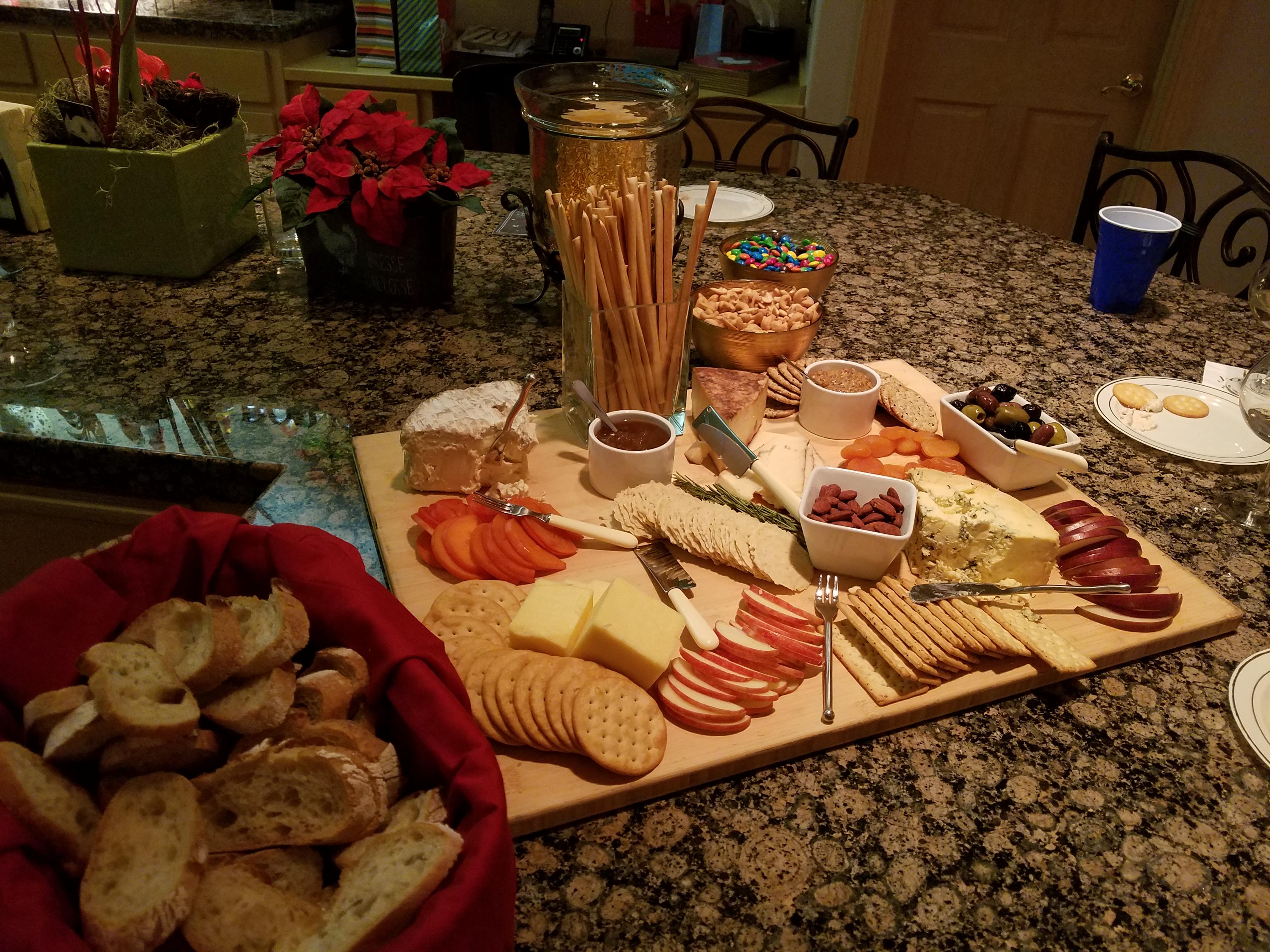 Char - Cheese Apples Croustini