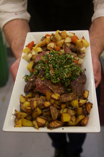 Flank Steak and Chimichurri