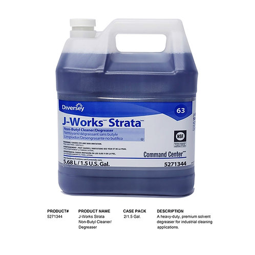 J-Works Strata Non-Butyl Cleaner/Degreaser 1.5 Gal.