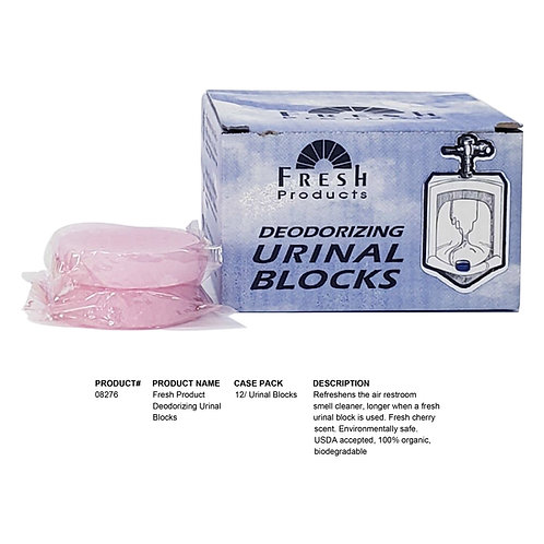 Fresh Product Deodorizing Urinal Blocks